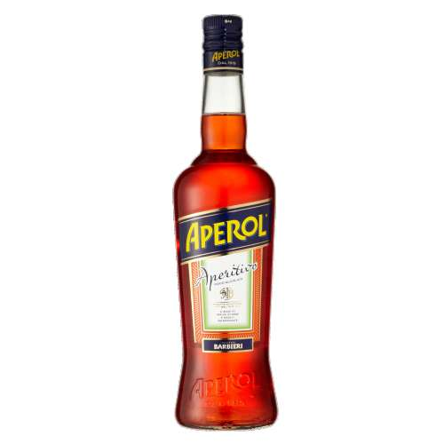 Aperol aperol is the perfect aperitif. bright orange in color it has a unique bitter sweet taste deriving from a secret recipe that has remained unchanged since its creation.
