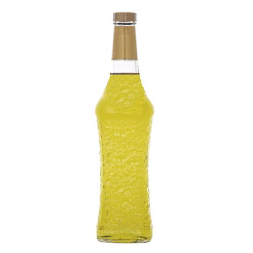 Banana Liqueur liqueur flavoured with bananas and strong yellow color and also comes in a green color.