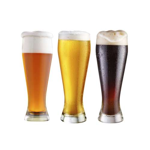 Beer beer is brewed from cereal grains most commonly from malted barley though wheat maize and rice are also used.