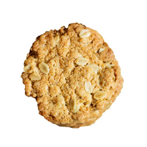 Biscuit Anzac anzac biscuit comes in two types chewie and hard it is a sweet biscuit made using rolled oats flour sugar butter golden syrup baking soda boiling water and coconut.