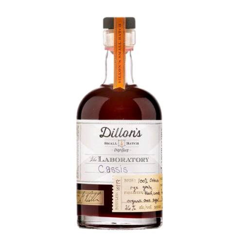 Blackcurrant Liqueur Dillons dillons blackcurrant liqueur is a cassis crafted using rye grain spirit as the base we steeped fresh black currants and sweetened with organic cane sugar.
