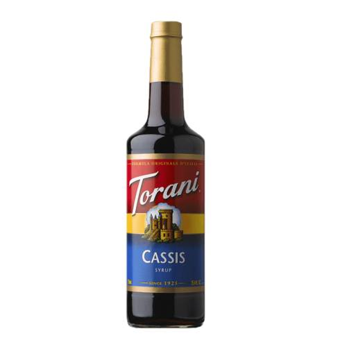 Blackcurrant Syrup Torani torani blackcurrant syrup with strong black currant flavour.