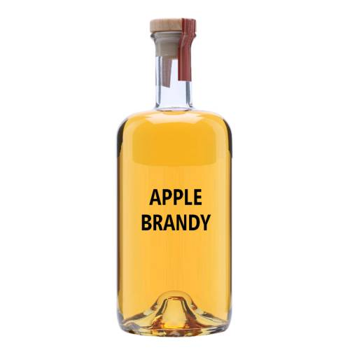 Brandy Apple brandy is a spirit produced by distilling apples into a strong wine.