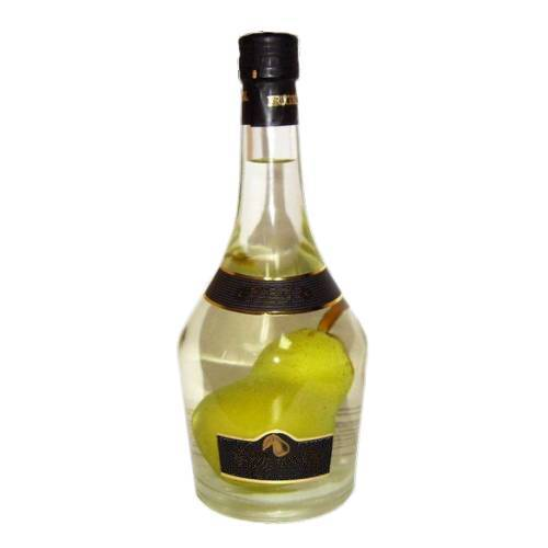 Brandy Pear fruit brandy traditionally made from distillation of pears.