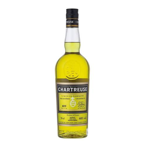 Chartreuse Liqueur Yellow chartreuse yellow is a liqueur made by the carthusian monks since 1737 distilled alcohol aged with 130 herbs plants and flowers and yellow in color.