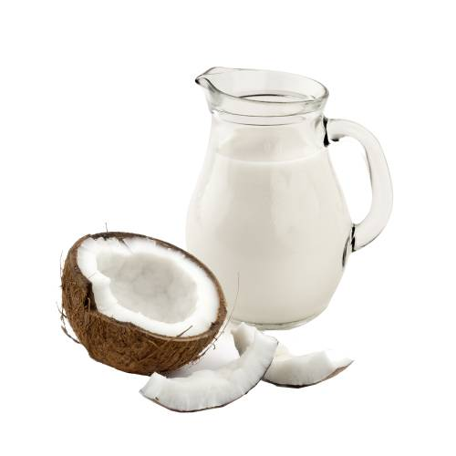Coconut Cream coconut cream is very similar to coconut milk but contains less water.