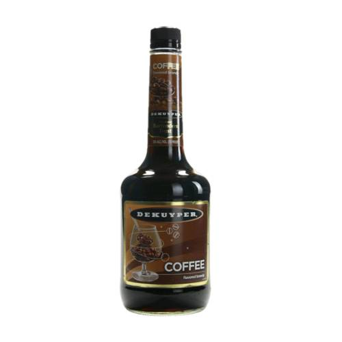 Coffee Liqueur DeKuyper de kuyper coffee flavoured liqueur creme de cafe is coffee flavor strengthened with natural vanilla and cacao..