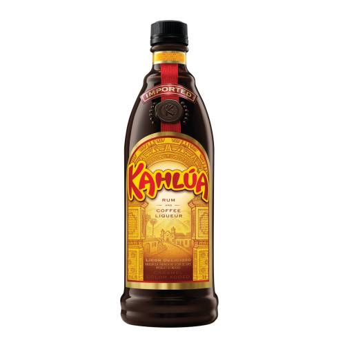 Kahlua is a coffee flavoured liqueur contains sugar vanilla bean and arabica coffee.