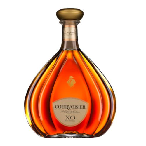 Cognac Courvoisier XO courvoisie xo cognac with fruit nutmeg and spice on the nose and a palate with will take you from floral sweetness to savoury oak.