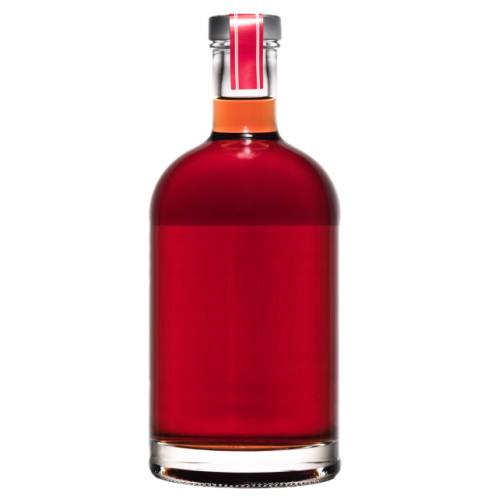 Gin Sloe sloe gin is a red liqueur made with gin and sloe drupes which are a small fruit relative of the plum.