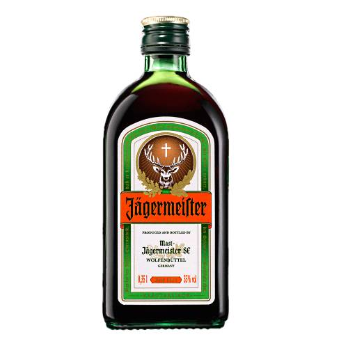 Jagermeister jagermeister is a digestif made with 56 herbs and spices.