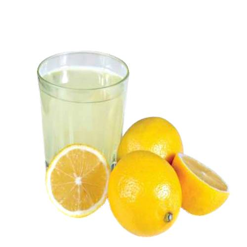 Lemon Juice juice of the lemon is about 5% to 6% citric acid with a ph of around 2.2 giving it a sour taste.