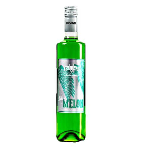 Melon Liqueur Divas Glades divas glades melon flavor liqueur sweet and green in color.