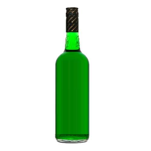 Creme De Menthe or mint liquer are made from many types of peppermint and mints available at the market at various prices and qualities can also come in clear white and green.