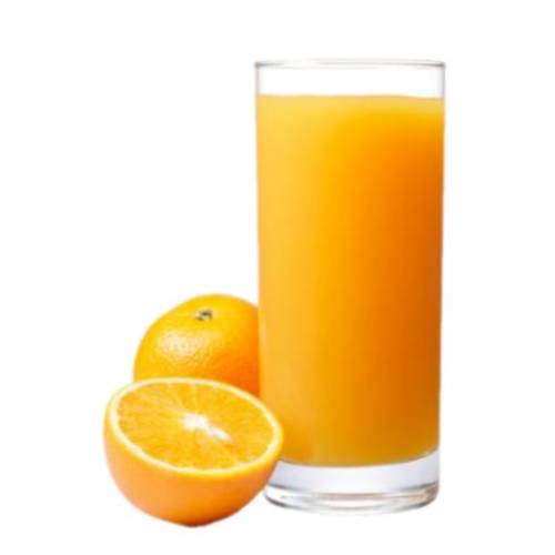 Juice from an orange clean sweet or sour tast used in refreshing cocktails.