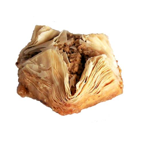 Pastry Baklava baklava pastry is a rich sweet dessert pastry made of layers of filo filled with chopped nuts and sweetened and held together with syrup or honey.