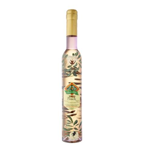 Peach Liqueur Tamborine Mountain tamborine mountain peach liqueur is yellow in colour with golden shades and smell of a freshly picked ripe fruit. bright and fruity tasting notes.