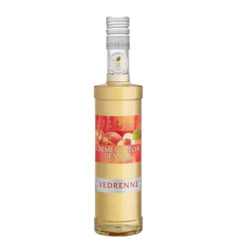 Peach Liqueur Vedrenne vedrenne peach liqueur also called creme de peche de vigne golden and slightly pinkish very aromatic sugary fruit flesh and juice and generous taste of fully mature fruit