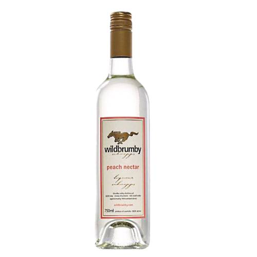 Peach Schnapps Wildbrumby wildbrumby peach schnapps is made with pride in australia wild brumby peach schnapps is bold and distinctive packing a real punch that will make a welcome addition to any cocktail.