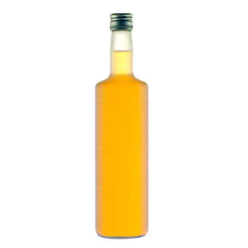 Peach Schnapps alcoholic beverage made with distilled peach spirit.