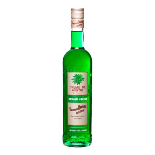 Peppermint Liqueur Green Gabriel Boudier gabriel boudier mint liqueur involves the fortuitous combination of peppermint and mitcham mint.