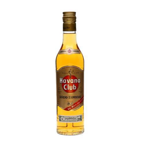 Rum Gold Amber Havana Club produced since 1878 this authentic cuban rum has been made using only the best dark molasses derived from cuban sugar cane. 100% made and aged in cuba combining freshness and character to make true cuban mojitos and daiquiris.