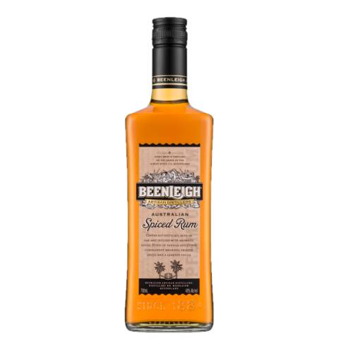 Rum Spiced Beenleigh beenleigh australian spiced 2 year old rum with smooth palate has hints of citrus rounded spices and a lengthy finish for slow thoughtful sipping. the beenleigh spiced rum is copper pot distilled and slowly mellowed in ex brandy vats.