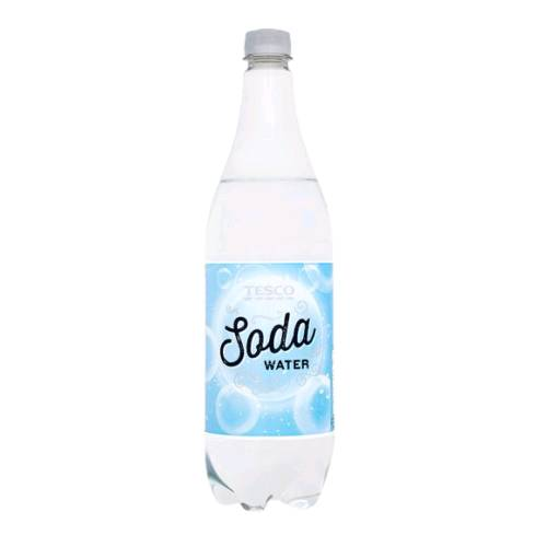 Soda Water carbonated water also called sparkling water or club soda or seltzer is water into which carbon dioxide gas under pressure has been dissolved.
