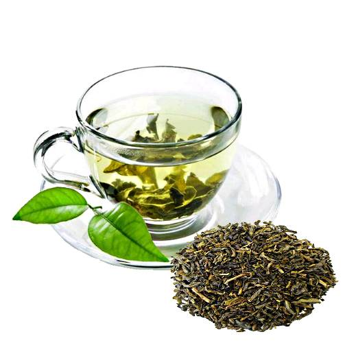 Tea Green tea is an aromatic beverage commonly prepared by pouring hot or boiling water over cured leaves of the camellia sinensis an evergreen shrub native to asia.