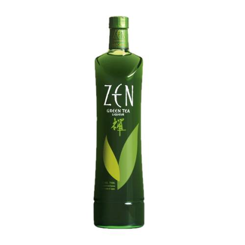 Tea Liqueur Zen Green zen green tea liqueur an unusual liqueur derived from the scent of the ceremonial japanese green tea.