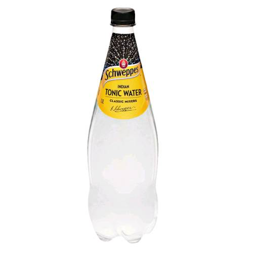 Tonic Water tonic water is a carbonated soft drink in which quinine is dissolved.