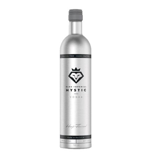 Vodka Hemp Mystic mystic olde imperial hand crafted with a slight pine nut taste on the front with a pleasant hint of vanilla on the finish. our hemp infused vodka is produced by macerating 190 proof grain alcohol in sterilized hemp seeds according to our proprietary formula.