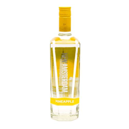 Vodka Pineapple New Amsterdam pineapple flavoured vodka made by new amsterdam.