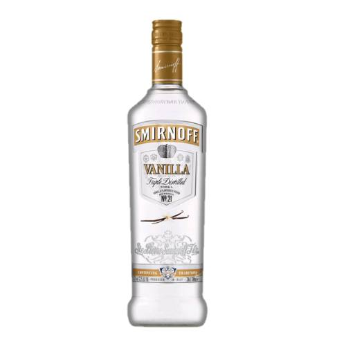 Vanilla flavoured vodka.