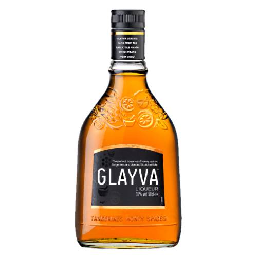 Whiskey Glayva glayva is a honey and scotch whisky flavour originally produced in leith edinburgh scotland made with a range of spices tangerines cinnamon almonds and honey with a deep golden colour and a distinctive flavour.