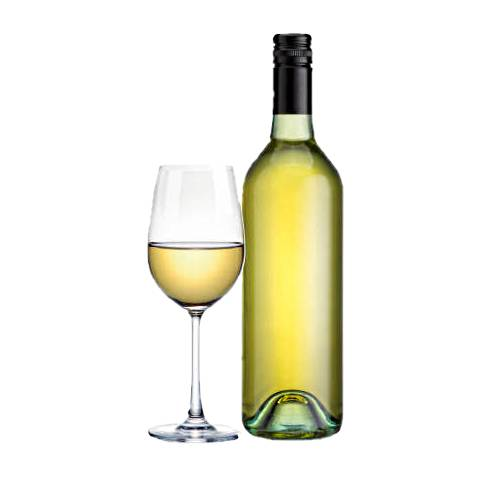 White wine is produced by the alcoholic fermentation of the non coloured pulp of grapes which may have a skin of any colour.